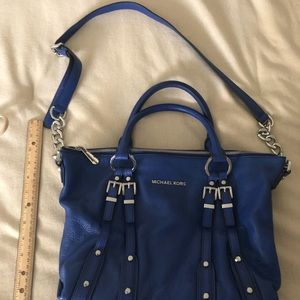 Michael Kors Royal Blue Handbag